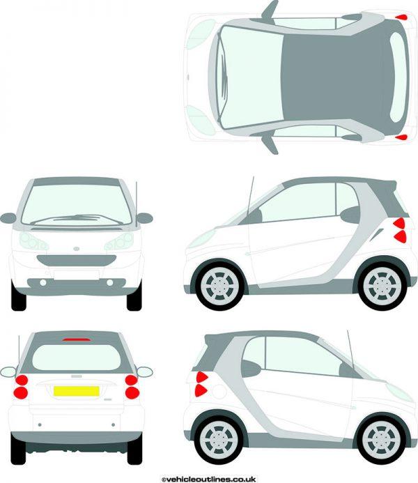 Cars Smart Car Cabrio 2007-13