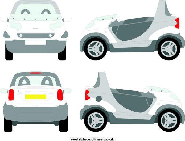 Cars Smart Car Crossblade 2002-03