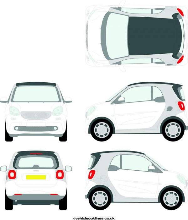 Cars Smart Car ForTwo 2014-19