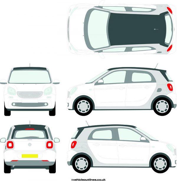 Cars Smart Car ForFour 2014-21