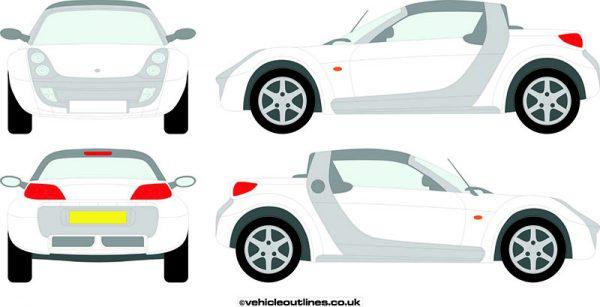Cars Smart Car Roadster 2003-06