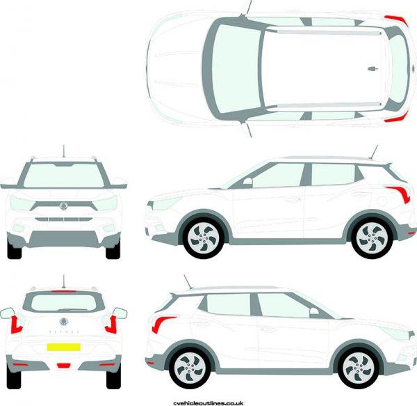 Cars Ssangyong Tivoli 2015-21