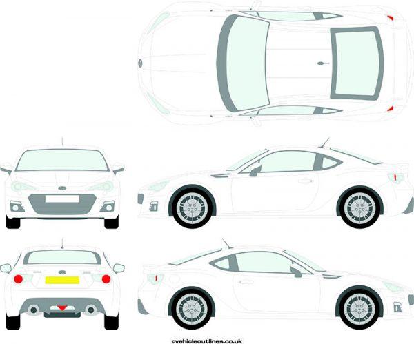 Cars Subaru BRZ 2012-21