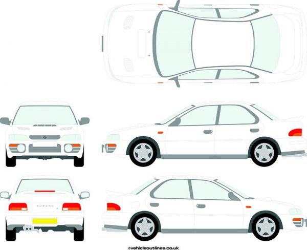 Cars Subaru Impreza 1993-2001