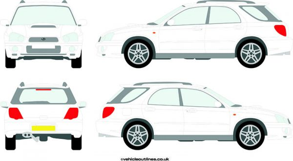 Cars Subaru Impreza 2003-05