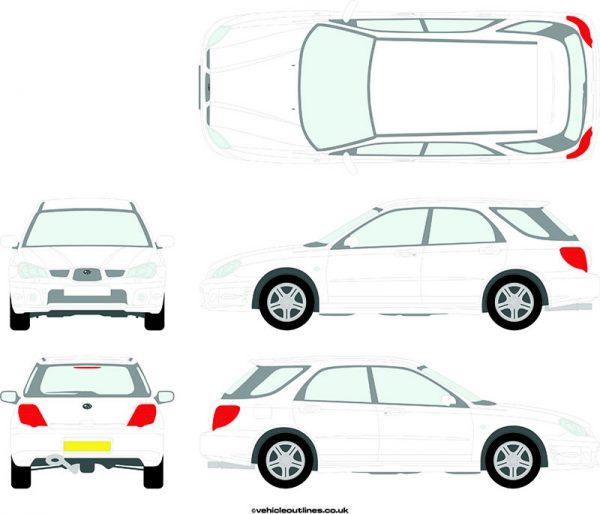 Cars Subaru Impreza 2006-07