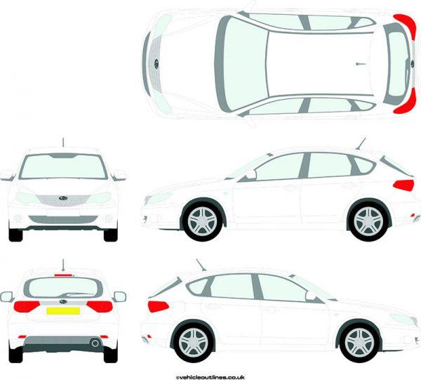 Cars Subaru Impreza 2007-14