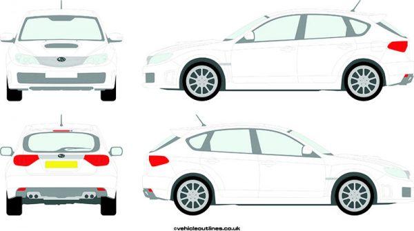 Cars Subaru Impreza 2008-14