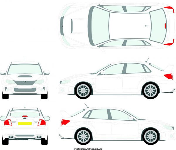 Cars Subaru Impreza 2011-14