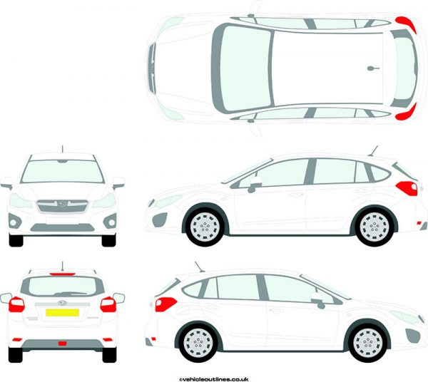 Cars Subaru Impreza 2014-16