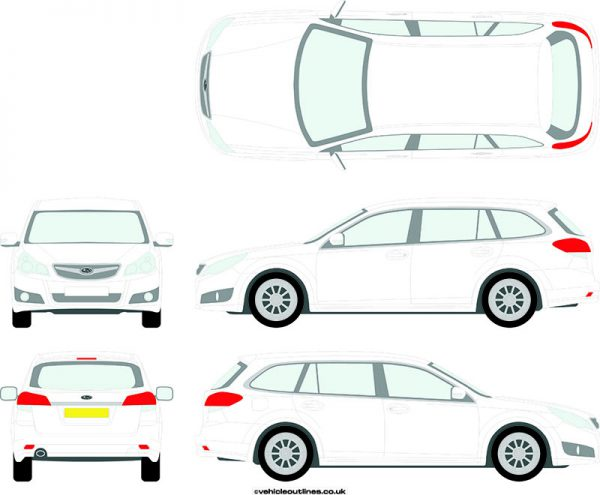 Cars Subaru Legacy 2009-14