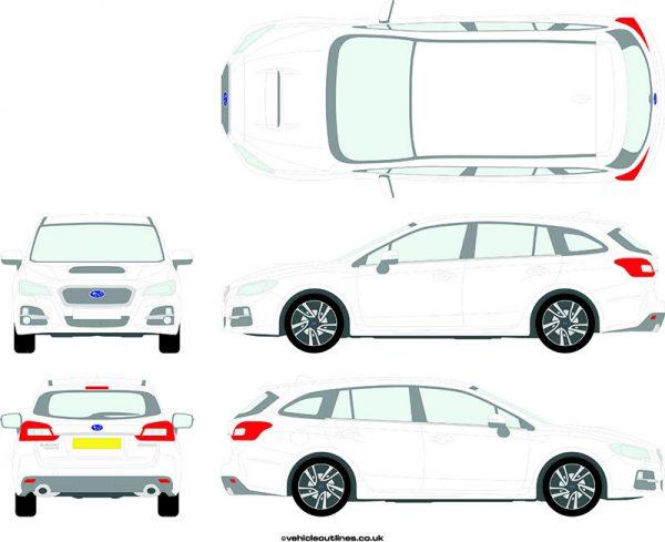Cars Subaru Levorg 2015-21