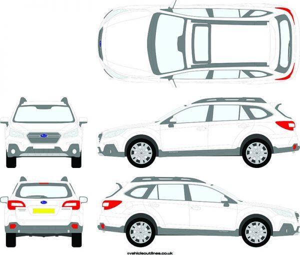 Cars Subaru Outback 2015-19