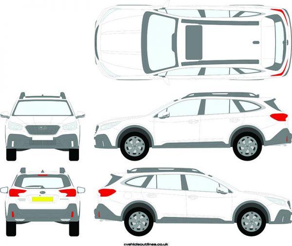 Cars Subaru Outback 2019-21