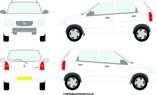 Cars Suzuki Alto 1997-2001