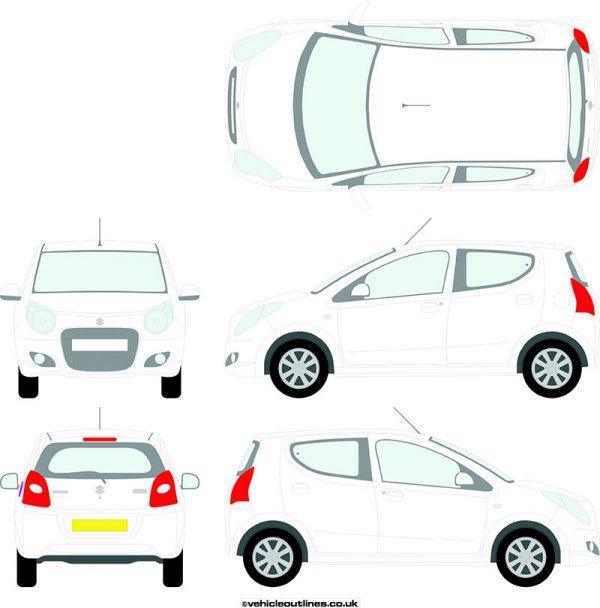 Cars Suzuki Alto 2009-13