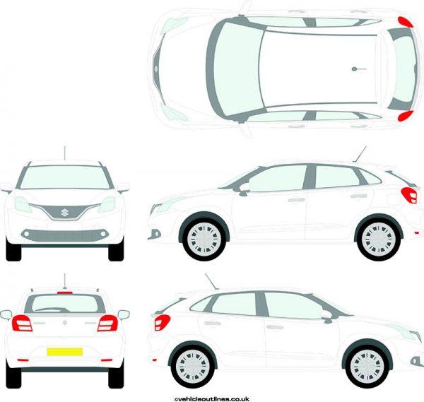 Cars Suzuki Baleno 2016-19