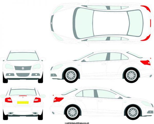 Cars Suzuki Kizashi 2012-13