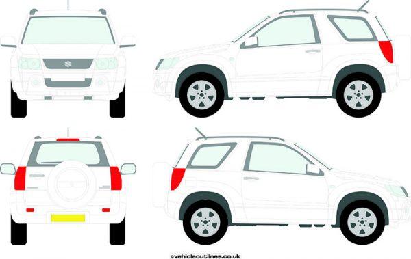 4x4 Suzuki Grand 2005-13