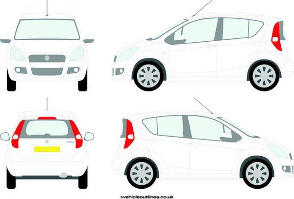 Cars Suzuki Splash 2008-12