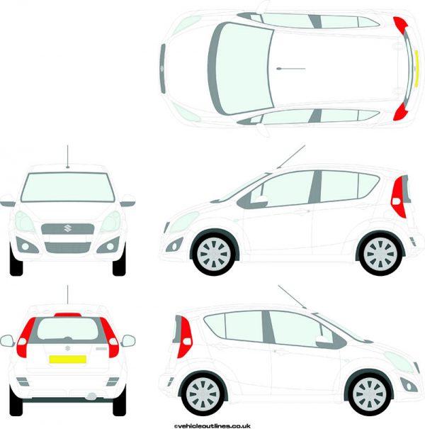 Cars Suzuki Splash 2013-14