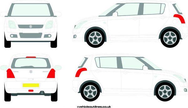 Cars Suzuki Swift 2005-10