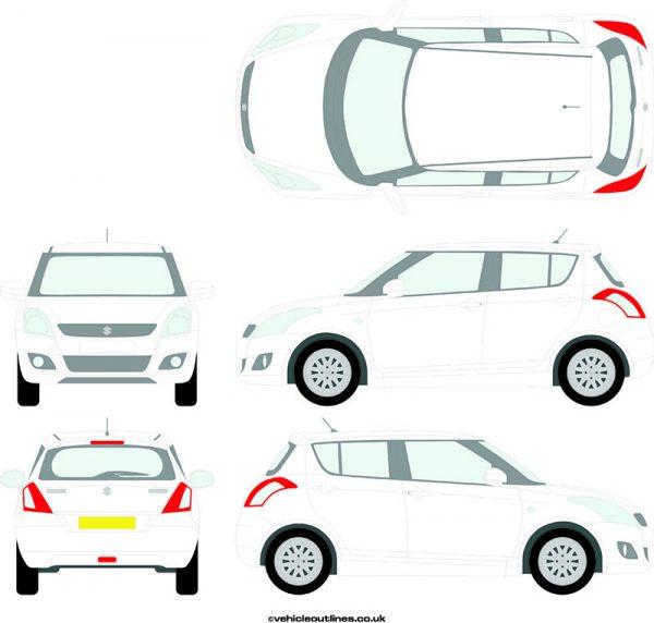 Cars Suzuki Swift 2010-17