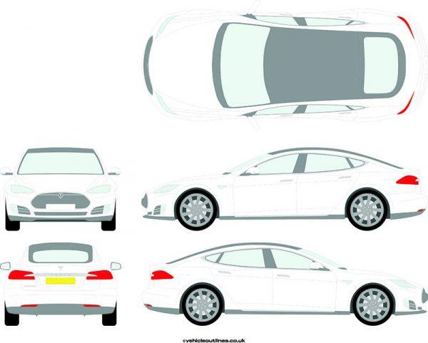 Cars Tesla Model 2013-21