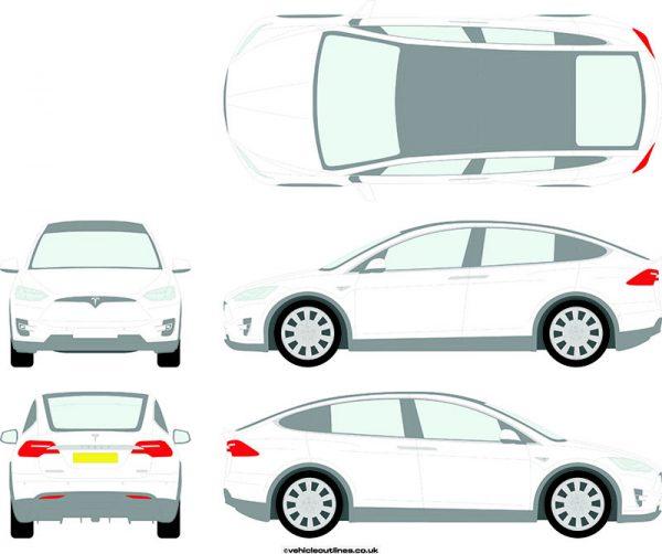 Cars Tesla Model 2016-21