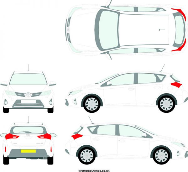 Cars Toyota Auris 2013-16