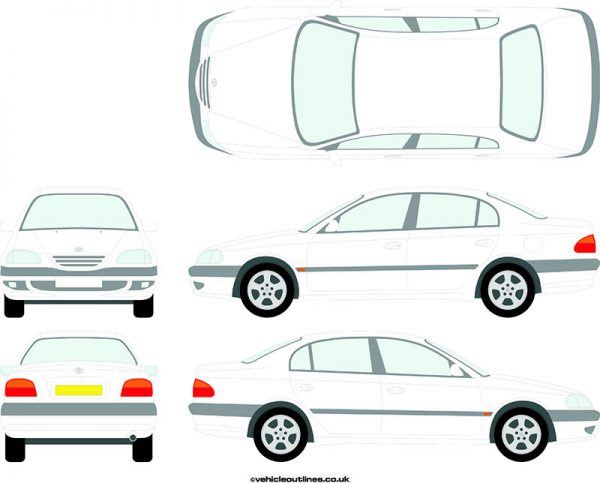 Cars Toyota Avensis 1998-2003