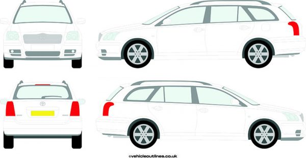 Cars Toyota Avensis 2004-09