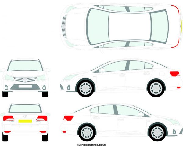 Cars Toyota Avensis 2012-15