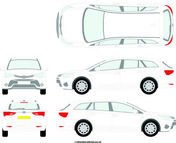Cars Toyota Avensis 2015-20