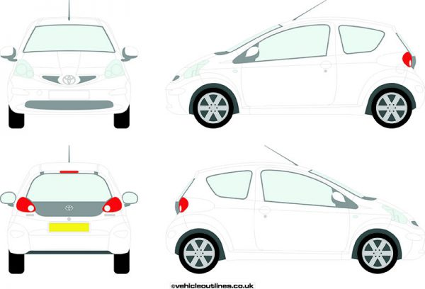 Cars Toyota Aygo 2005-09