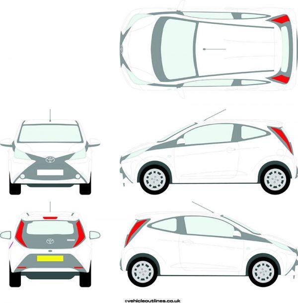 Cars Toyota Aygo 2014-18