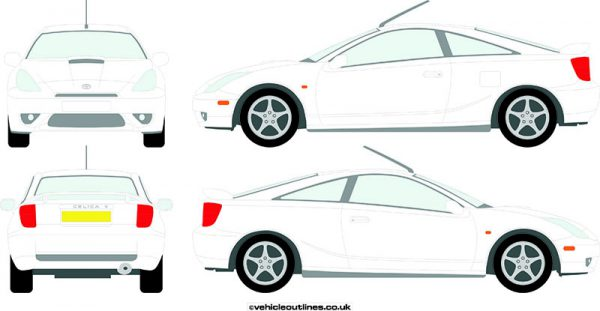 Cars Toyota Celica 1999-2007