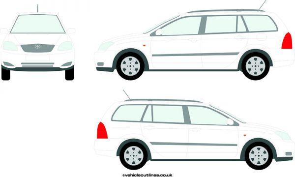 Cars Toyota Corolla 2002-07