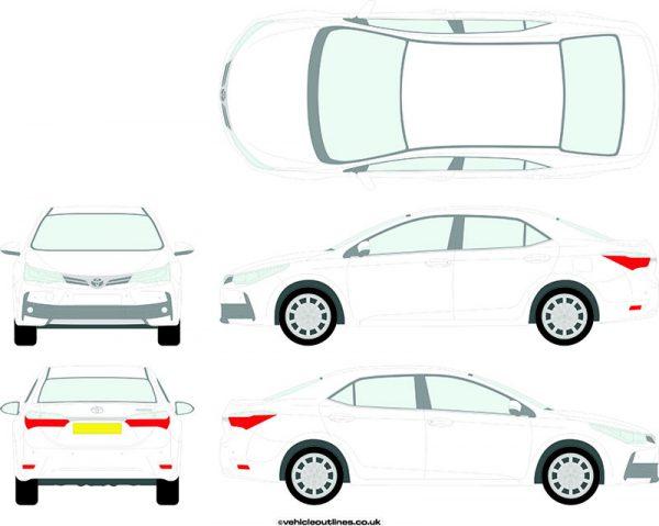 Cars Toyota Corolla 2016-20