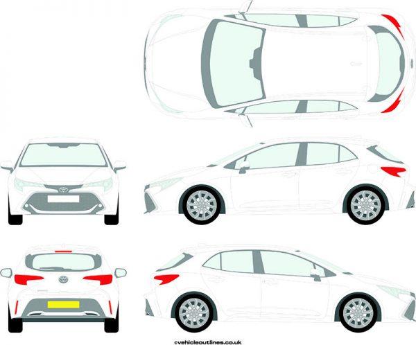 Cars Toyota Corolla 2019-21