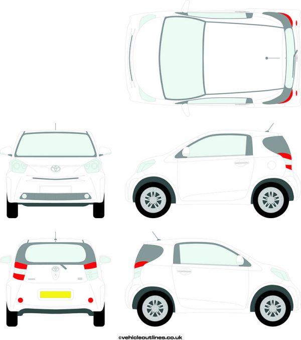 Cars TOYOTA IQ 2009-15