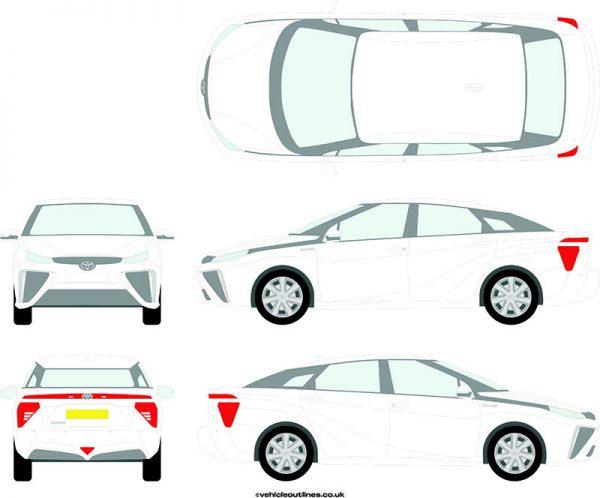Cars Toyota Mirai 2017-21
