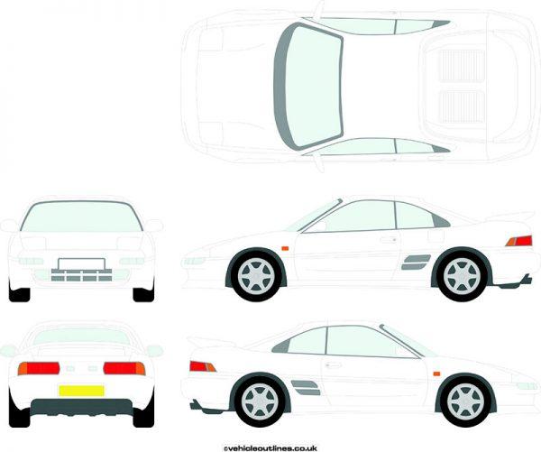 Cars Toyota MR2 1990-1998