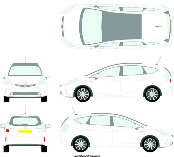 Cars Toyota Prius 2012-17