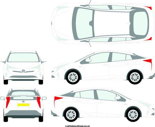 Cars Toyota Prius 2016-21