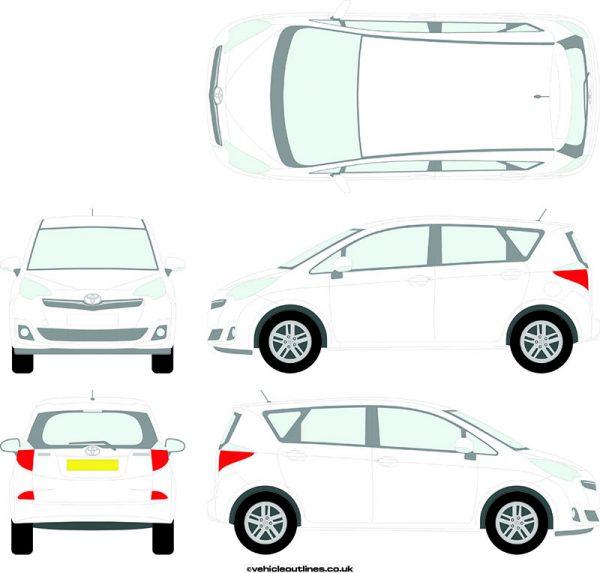 Cars Toyota Verso 2011-13
