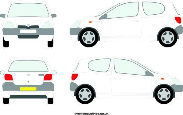 Cars Toyota Yaris 1999-2005