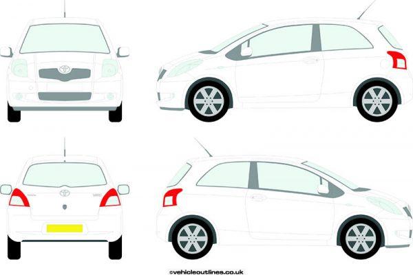 Cars Toyota Yaris 2006-11