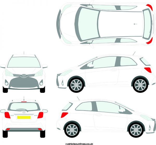 Cars Toyota Yaris 2014-19