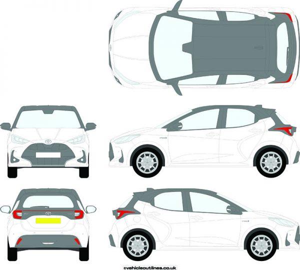 Cars Toyota Yaris 2020-21